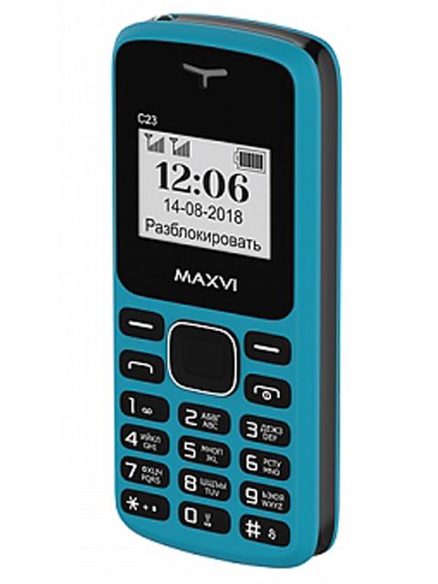 Сотовый телефон MAXVI C23 Blue-Black