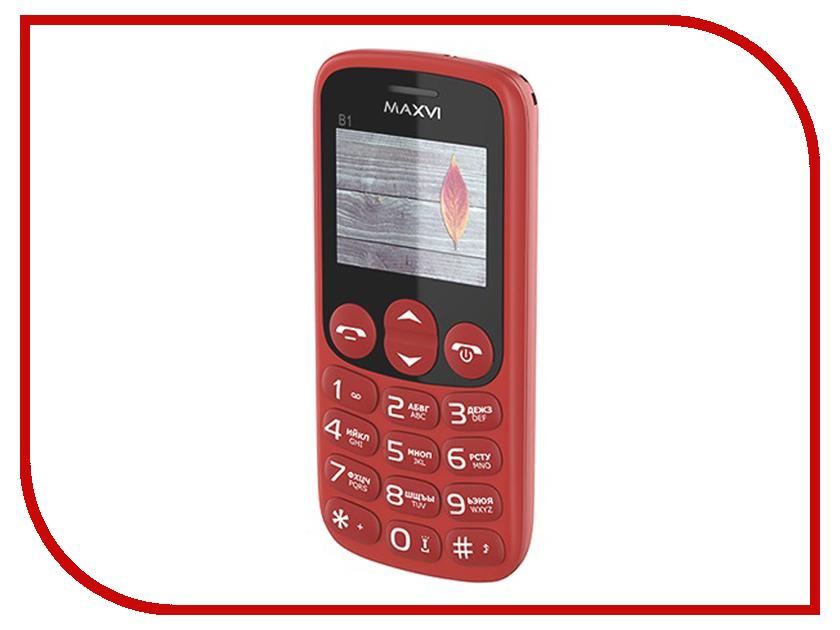 Сотовый телефон MAXVI B1 Red