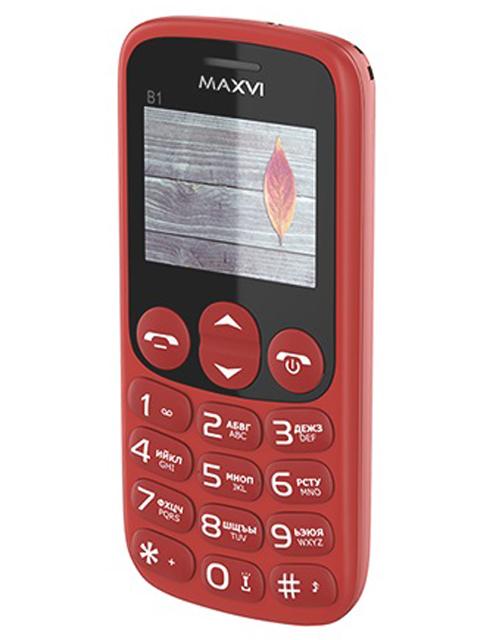 Сотовый телефон MAXVI B1 Red сотовый телефон maxvi c17 white red