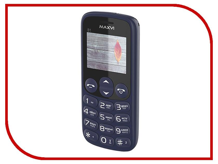 Сотовый телефон MAXVI B1 Blue сотовый телефон jinga basco l3 blue