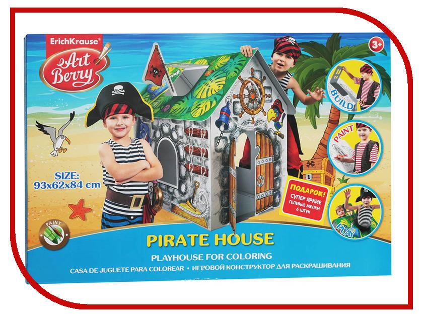 Игровой конструктор для раскрашивания ErichKrause Artberry Pirate House 39231