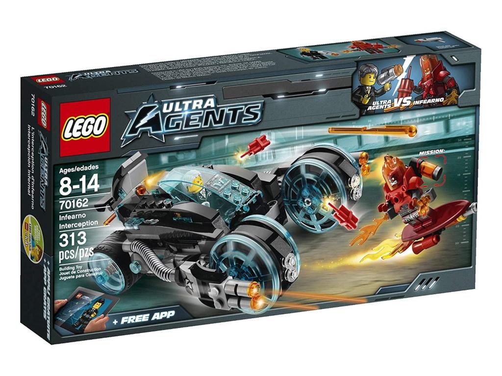 Конструктор Lego Ultra Agent Перехват Инферно 70162