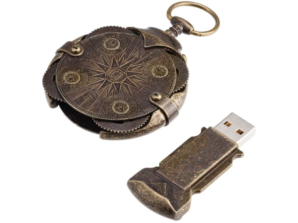 USB Flash Drive 16Gb - Ironglyph Криптекс Compass Lock 6933.06