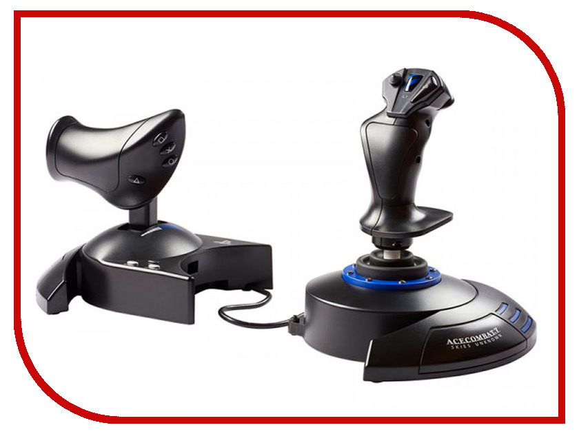 Джойстик Thrustmaster T-Flight Hotas 4 Ace Combat 7 Skies Unknown THR93 для PS4/PC цена