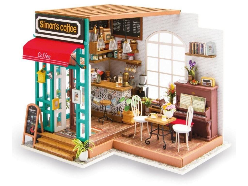 Сборная модель DIY House Кофейня DG109 9-58-010635