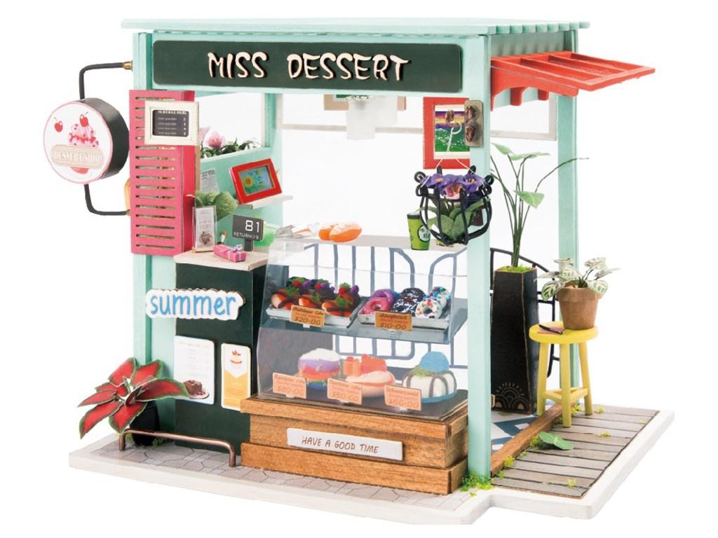 Сборная модель DIY House Магазинчик Сладостей DGM06 9-58-010641