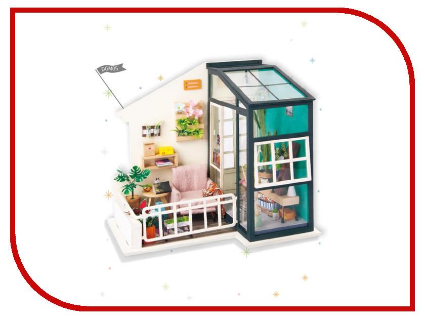 Сборная модель DIY House Терраса DGM05 9-58-010640 24th diy wooden dollhouse 3d model kit miniatures doll house large villa