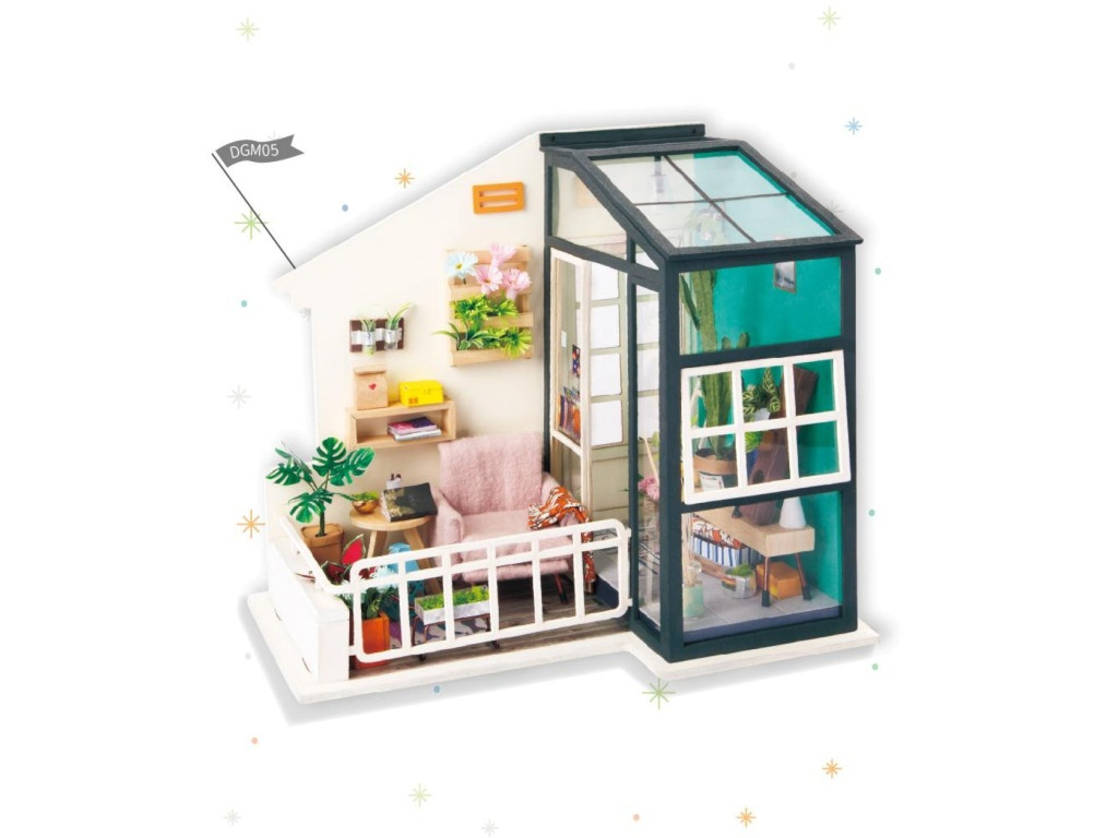 Сборная модель DIY House Терраса DGM05 9-58-010640