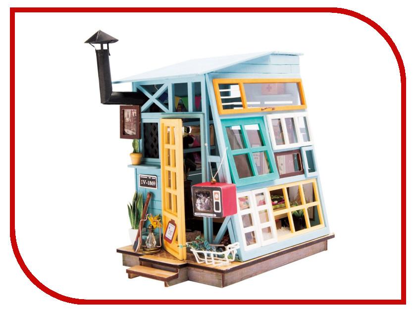 Сборная модель DIY House Чердак DGM03 9-58-010638 24th diy wooden dollhouse 3d model kit miniatures doll house large villa