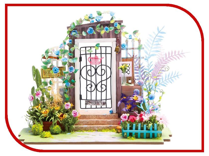 Сборная модель DIY House Калитка в цветах DGM02 9-58-010637 24th diy wooden dollhouse 3d model kit miniatures doll house large villa