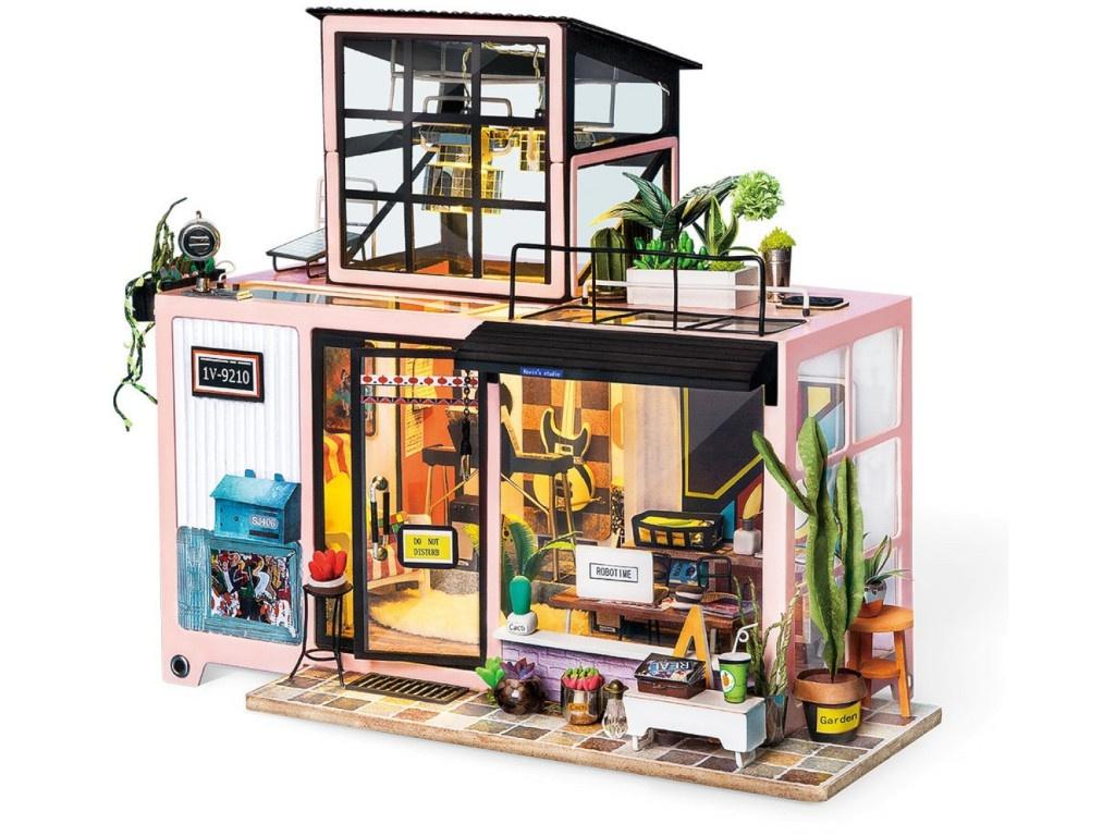 Сборная модель DIY House Музыкальная Студия DG13 9-58-011513