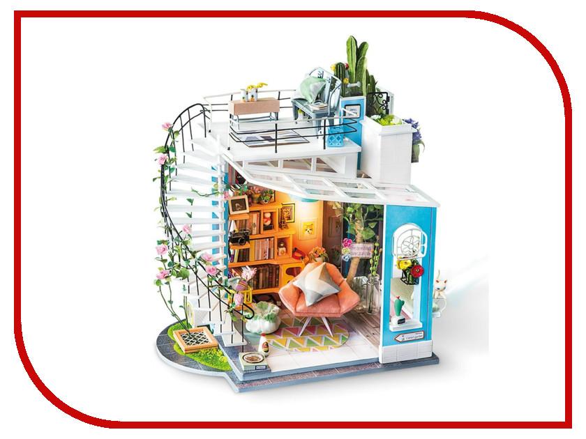 Сборная модель DIY House Уютный Лофт DG12 9-58-011202 24th diy wooden dollhouse 3d model kit miniatures doll house large villa