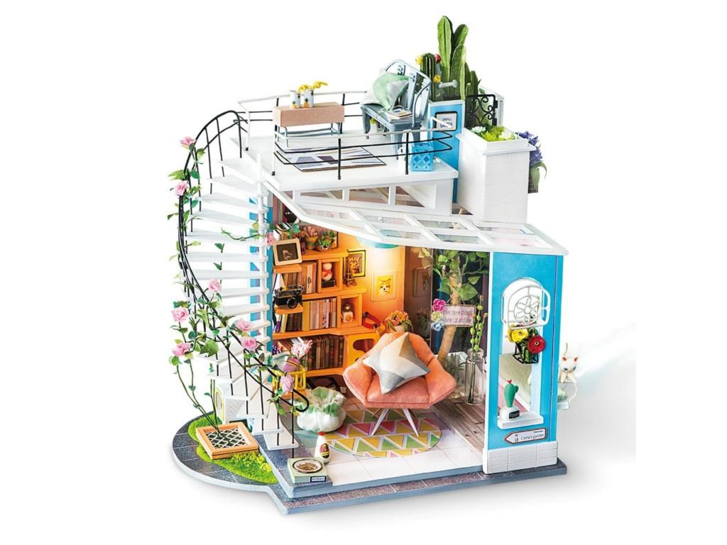 Сборная модель DIY House Уютный Лофт DG12 9-58-011202