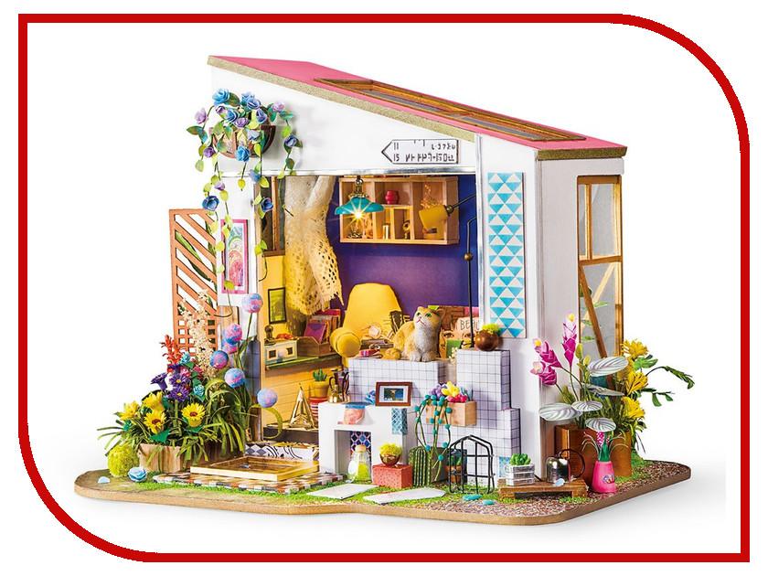 Сборная модель DIY House Летний домик DG11 9-58-011201 24th diy wooden dollhouse 3d model kit miniatures doll house large villa