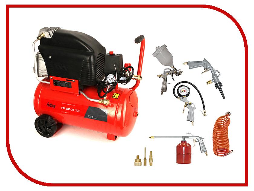 Компрессор Fubag Air Master Kit FC 230/24 + 6 предметов 45681983