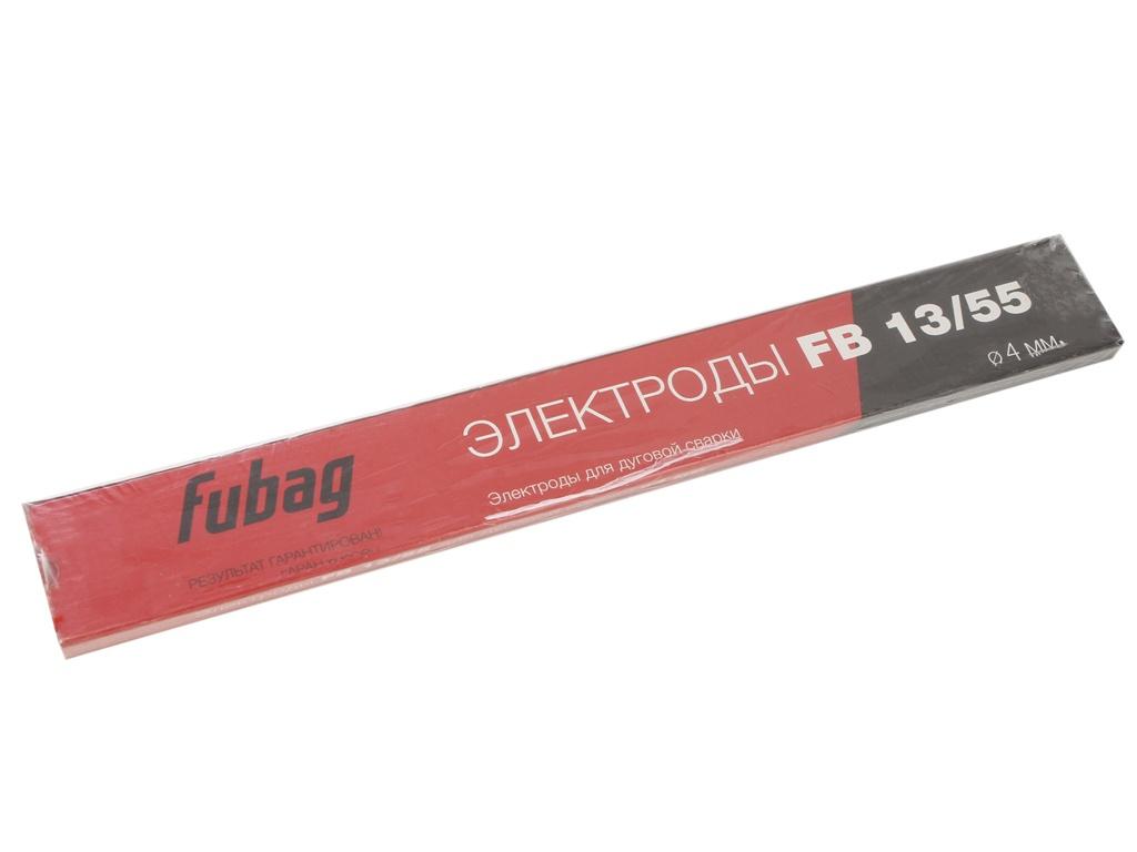 Электроды с основным покрытием Fubag FB 13/55 D4.0mm пачка 900гр 38882