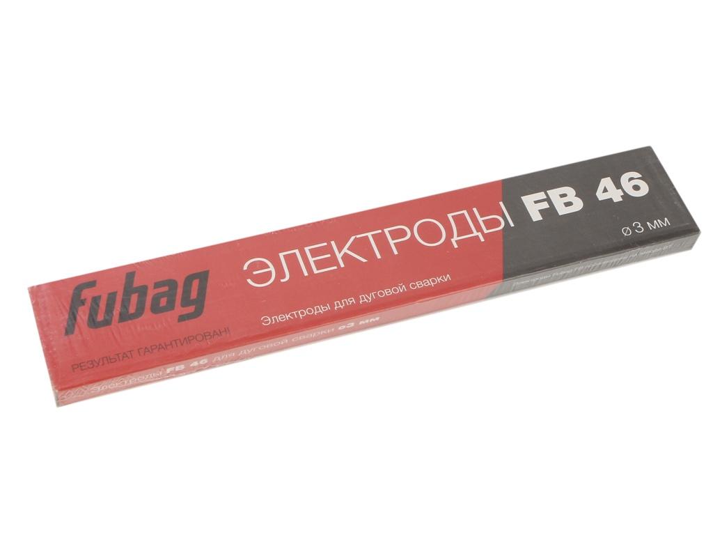 Электроды с рутилово-целлюлозным покрытием Fubag FB 46 D3.0mm пачка 900гр 38856