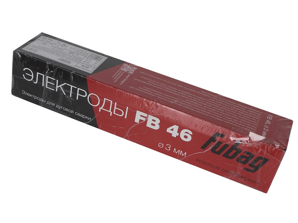 Электроды с рутилово-целлюлозным покрытием Fubag FB 46 D3.0mm пачка 5кг 38868