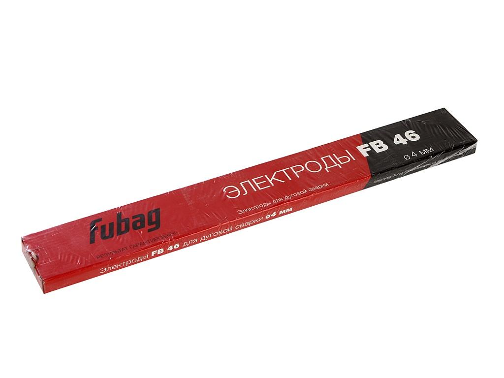 Электроды с рутилово-целлюлозным покрытием Fubag FB 46 D4.0mm пачка 900гр 38857