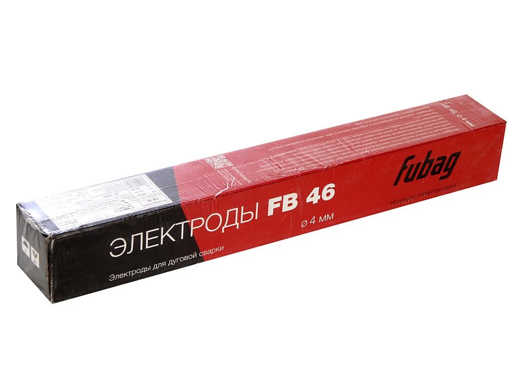 Электроды с рутилово-целлюлозным покрытием Fubag FB 46 D4.0mm пачка 5кг 38869