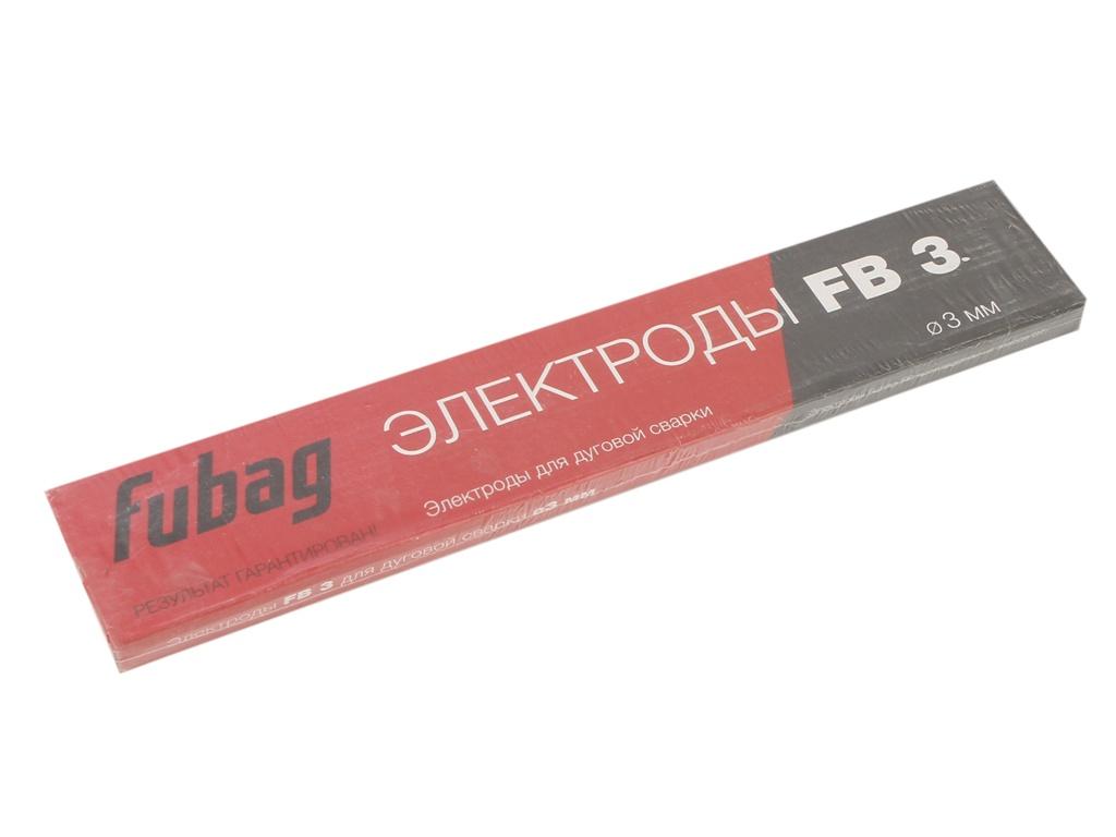 Электроды с рутиловым покрытием Fubag FB 3 D3.0mm пачка 900гр 38859