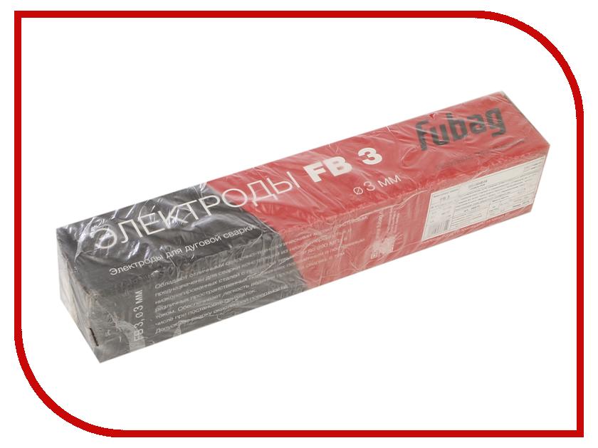 Аксессуар Электроды с рутиловым покрытием Fubag FB 3 D3.0mm пачка 5кг 38870 аксессуар газовое сопло fubag d 12 0mm 10шт fb 150 f145 0075