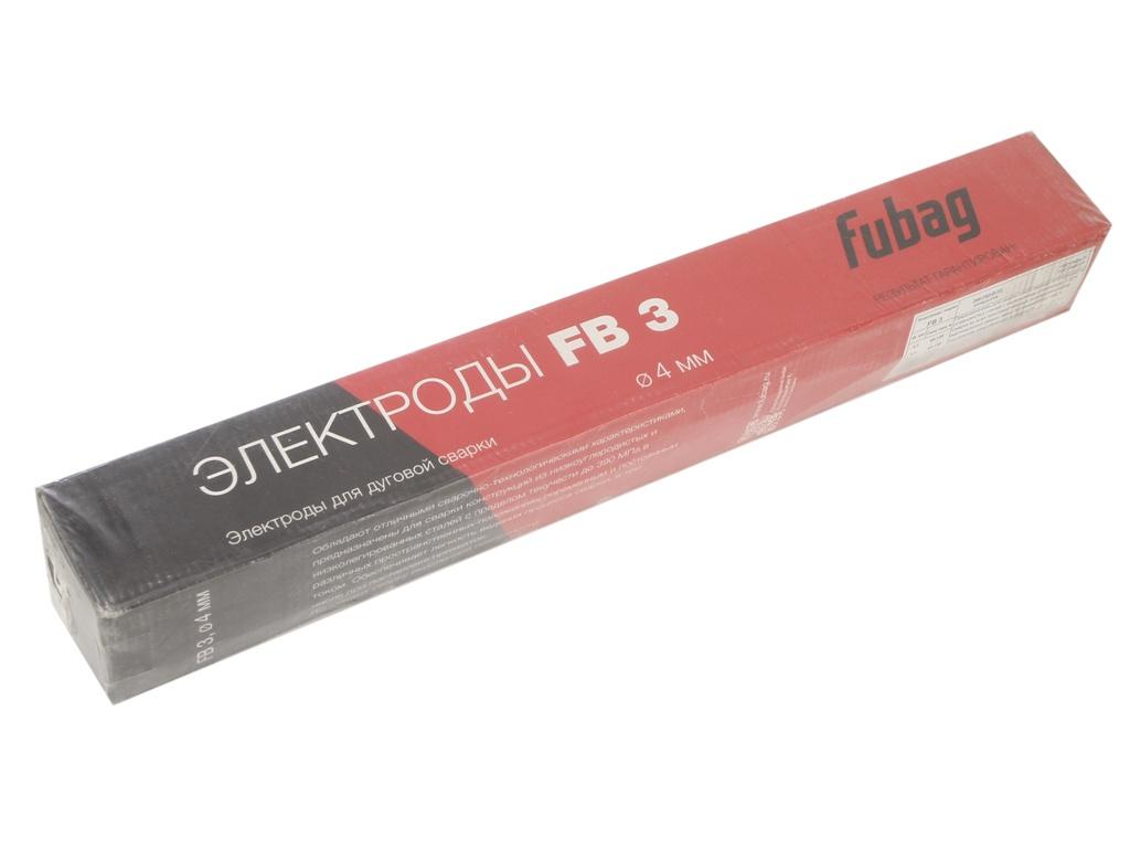 цена на Электроды с рутиловым покрытием Fubag FB 3 D4.0mm пачка 5кг 38871
