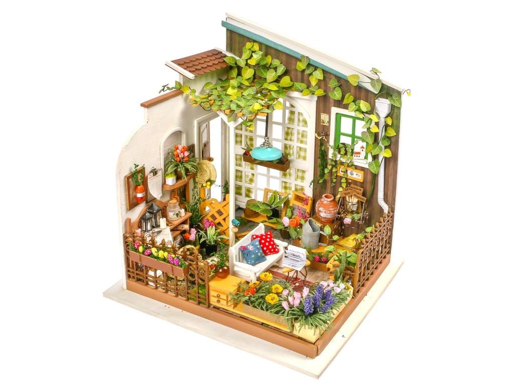 Сборная модель DIY House Летняя веранда DG108 9-58-010634