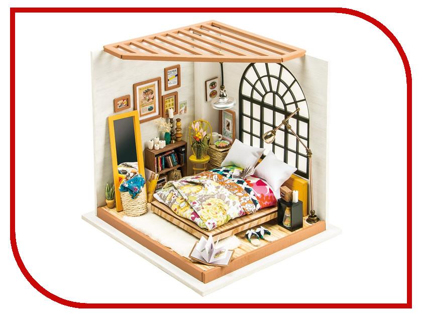 Сборная модель DIY House Спальня DG107 9-58-010633 24th diy wooden dollhouse 3d model kit miniatures doll house large villa