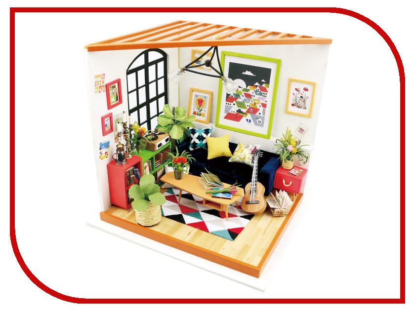 Сборная модель DIY House Гостиная DG106 9-58-010557 24th diy wooden dollhouse 3d model kit miniatures doll house large villa