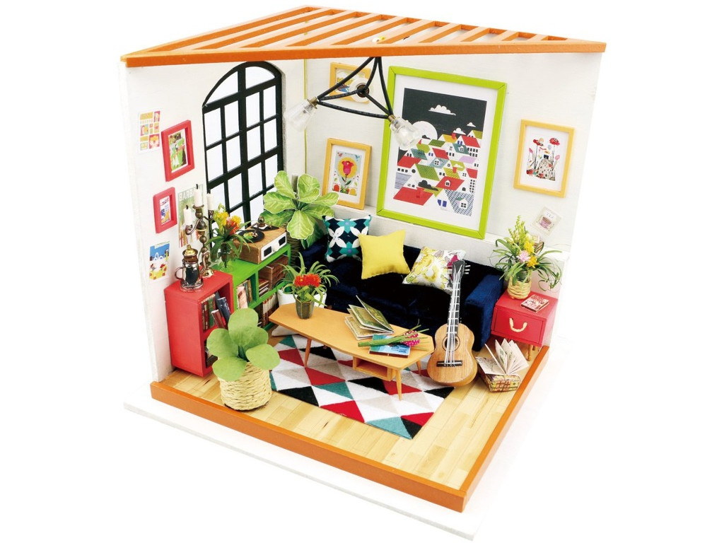Сборная модель DIY House Гостиная DG106 9-58-010557