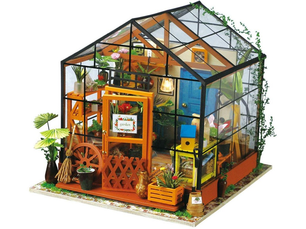 Сборная модель DIY House Зимний Сад DG104 9-58-010555
