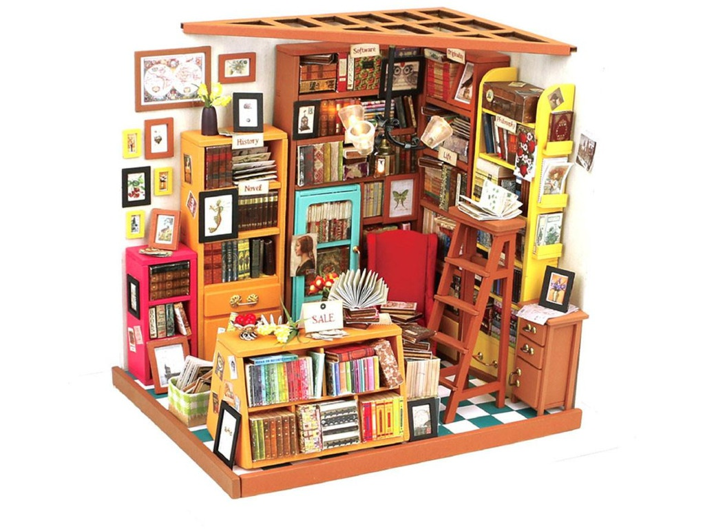 Сборная модель DIY House Библиотека DG102 9-58-010553