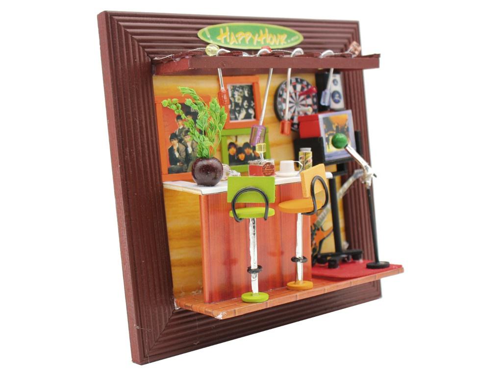 Конструктор DIY House Рок Бар 13630 9-58-011394 конструктор diy house зимний сад