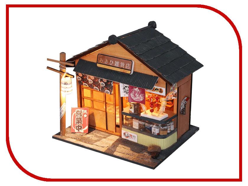 Сборная модель DIY House Бакалейная лавка D035 9-58-011389 24th diy wooden dollhouse 3d model kit miniatures doll house large villa