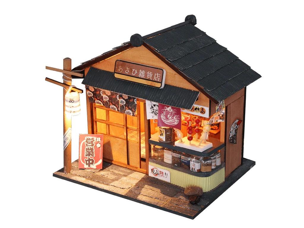 Сборная модель DIY House Бакалейная лавка D035 9-58-011389