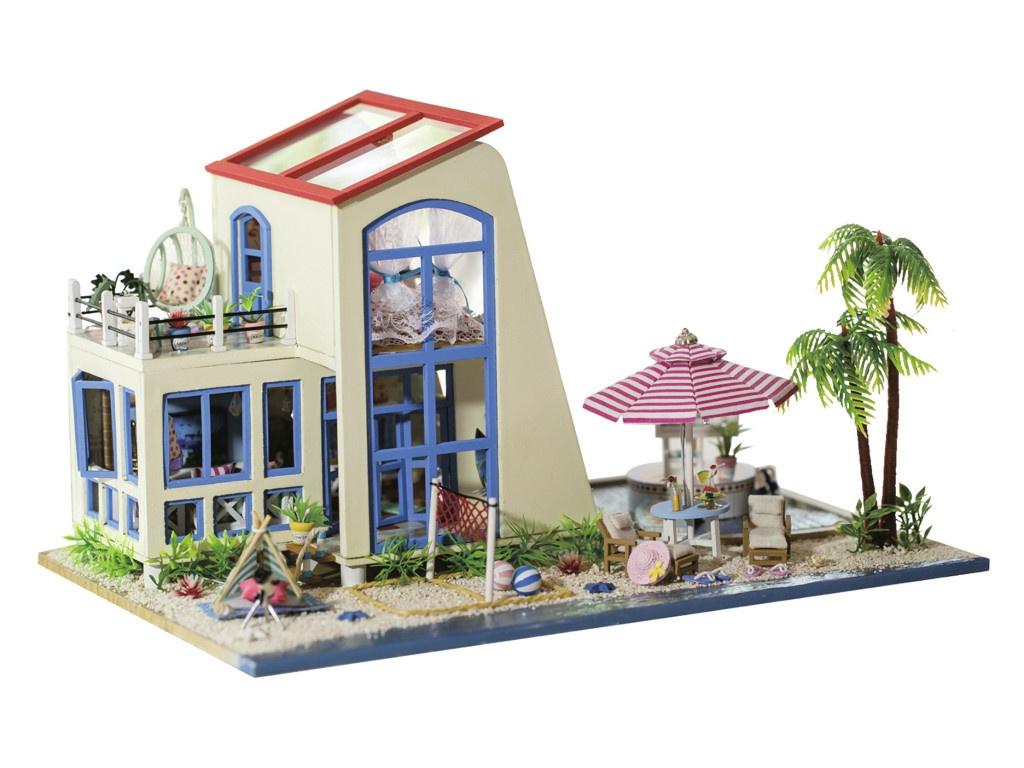 Сборная модель DIY House Лазурный берег 13840 9-58-011387