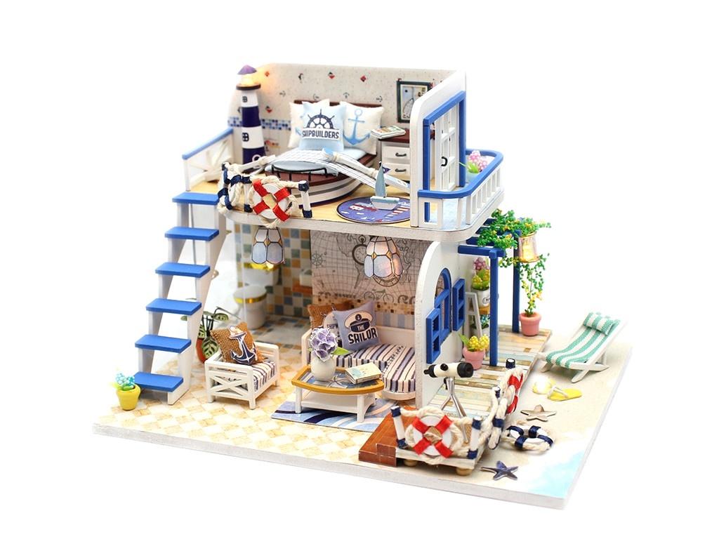 Конструктор DIY House Домик у моря M032 9-58-011384