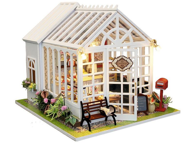 Сборная модель DIY House Кондитерская M028 9-58-011381 cy m028