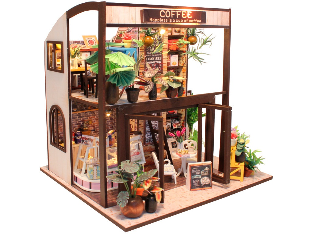 Конструктор DIY House Coffee M027 9-58-011380