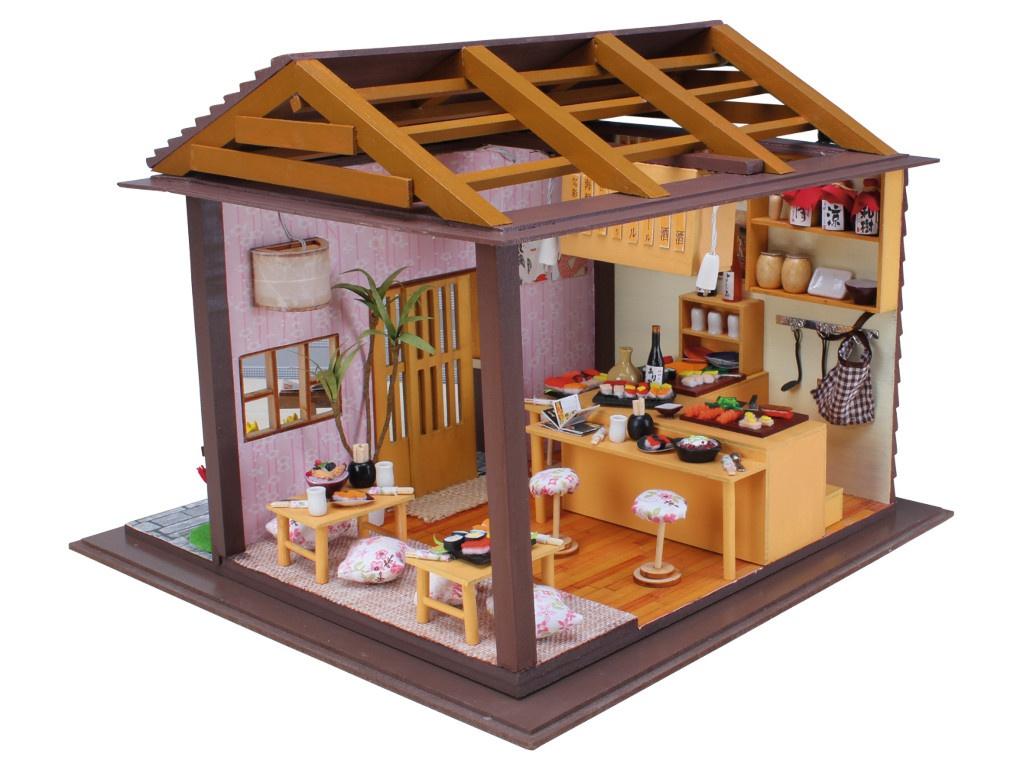 Сборная модель DIY House Суши Бар Sakura 13827 9-58-011379