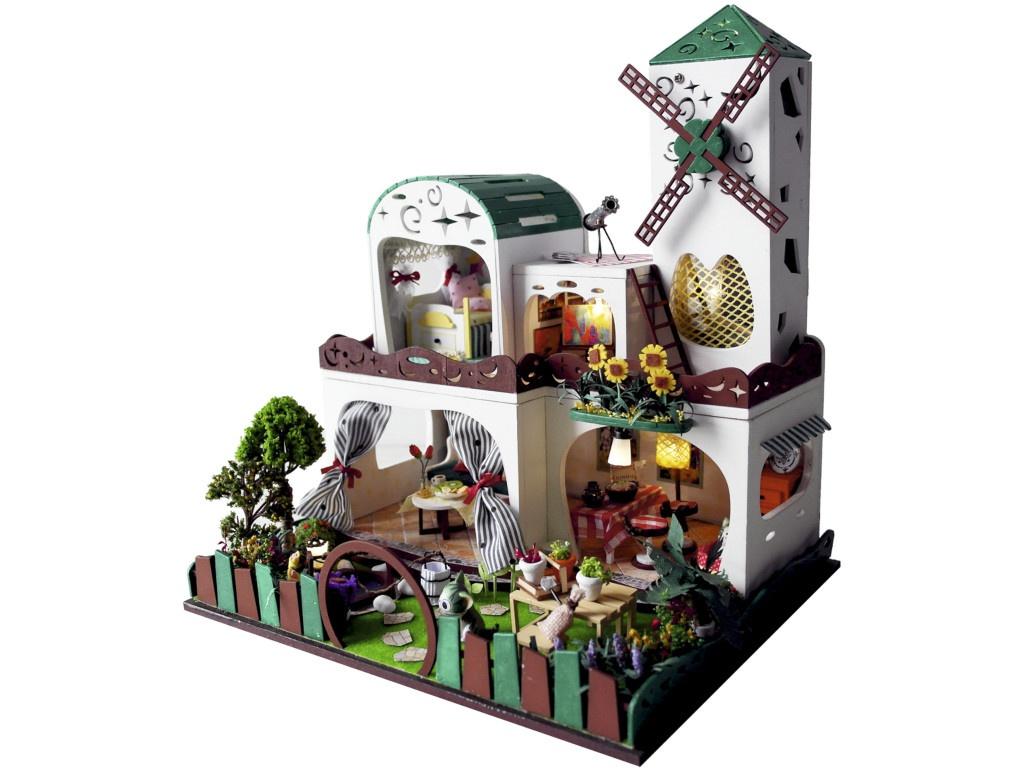 Сборная модель DIY House Мельница D026 9-58-011378