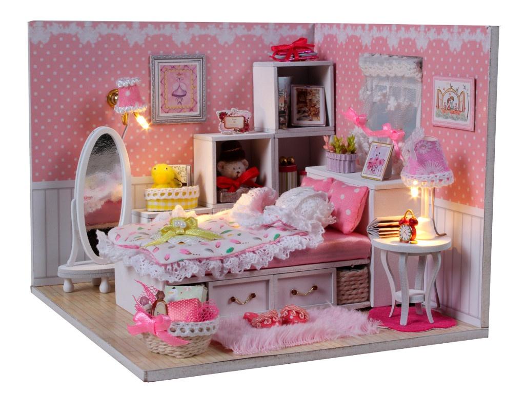 Конструктор DIY House Комната маленькой принцессы M001 9-58-011376
