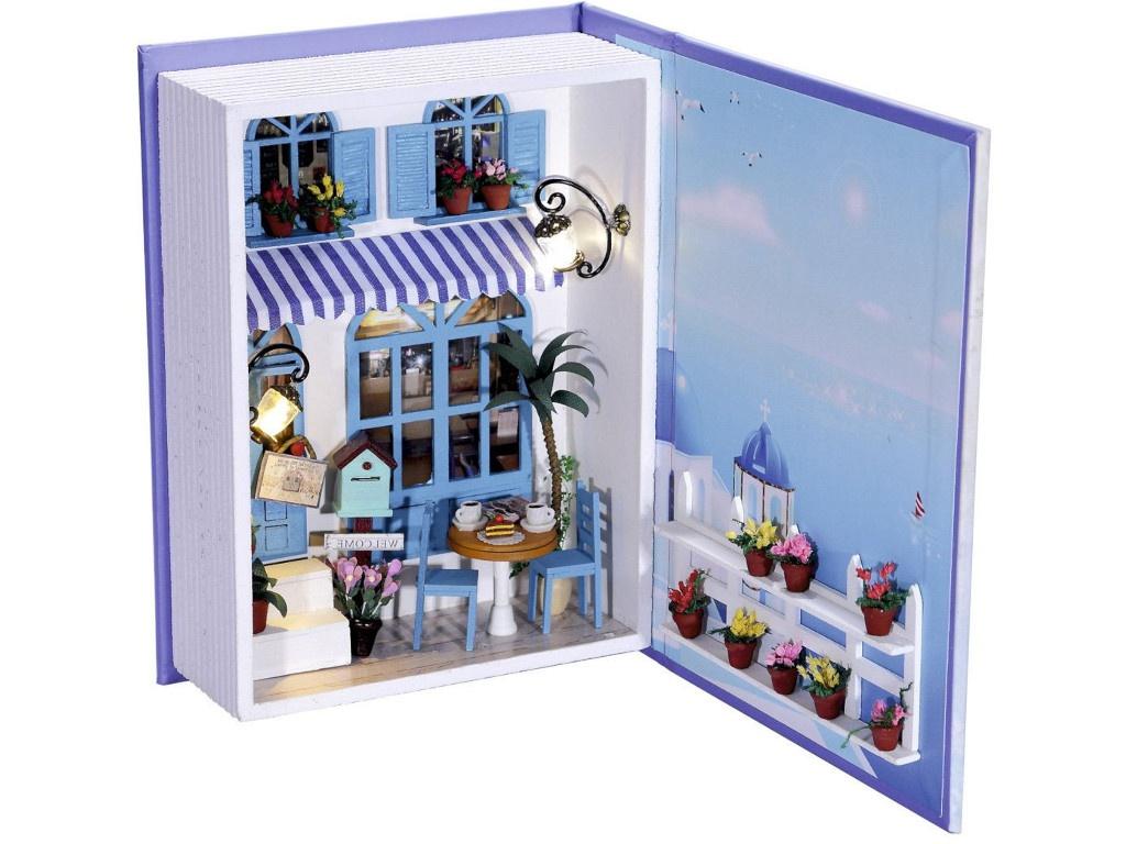 Сборная модель DIY House Дневник Лето в Греции B003 9-58-011373 zeza b003 z 6082