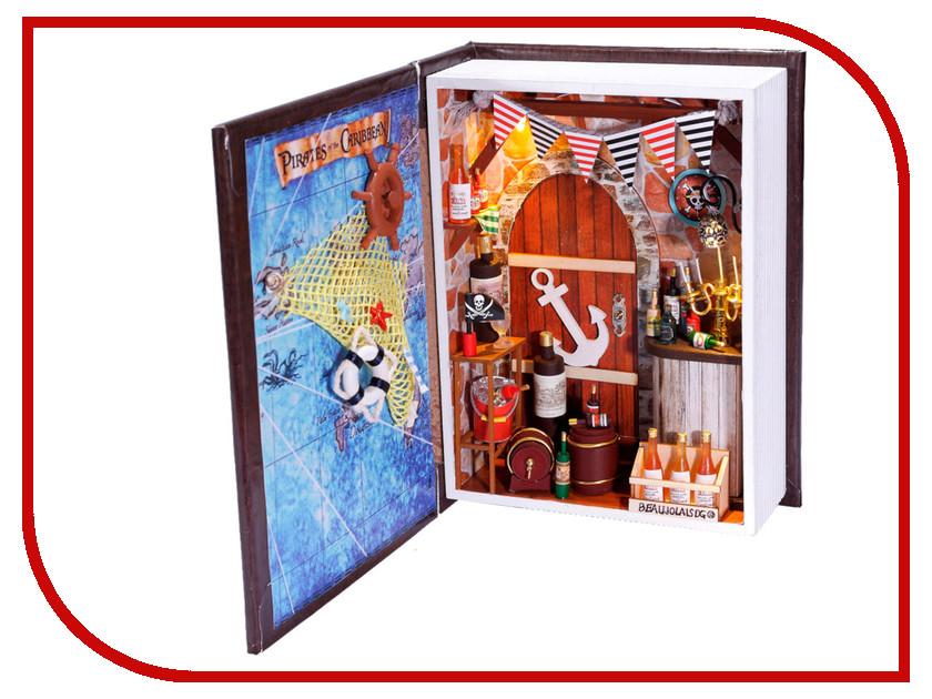 Сборная модель DIY House Дневник пирата B001 9-58-011372 24th diy wooden dollhouse 3d model kit miniatures doll house large villa