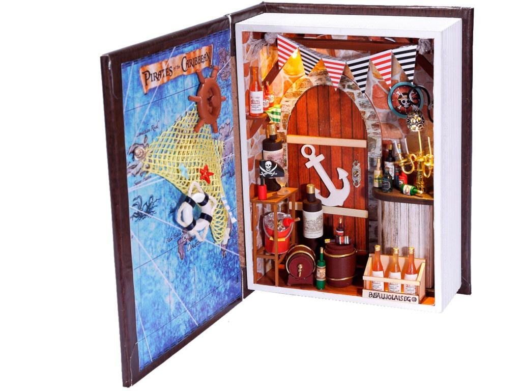 Сборная модель DIY House Дневник пирата B001 9-58-011372