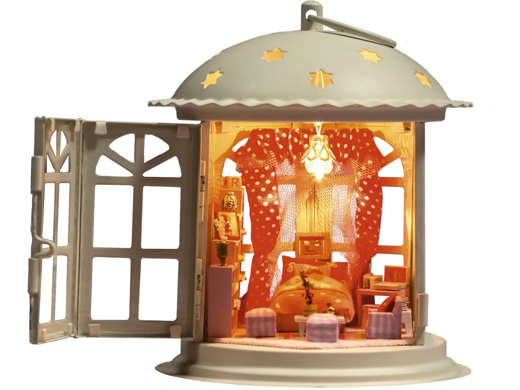 Конструктор DIY House Фонарик Розовые сны I001 9-58-011370