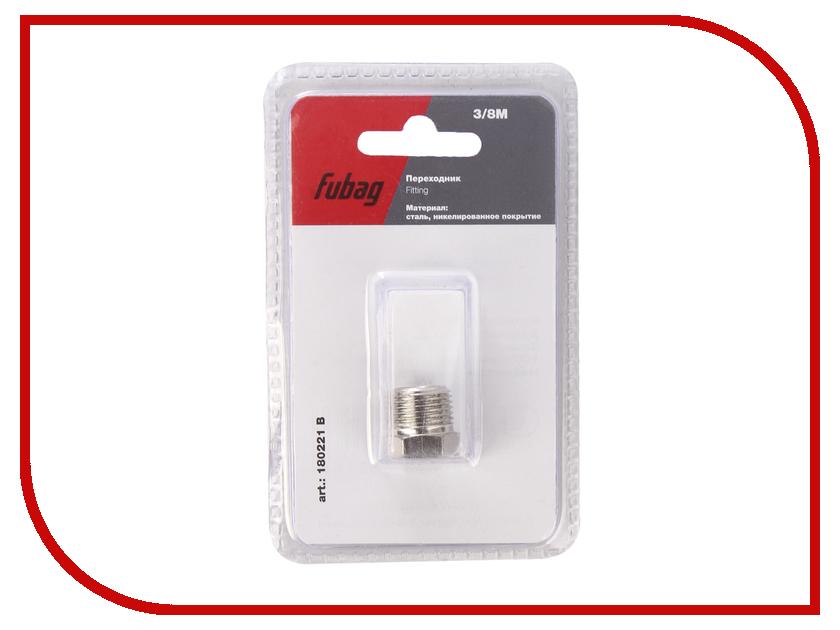 Разъемное соединение рапид Fubag елочка 8mm с обжимным кольцом 8x13mm блистер 1шт 180121 B