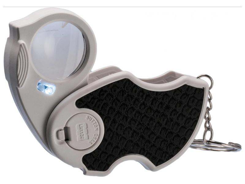Лупа Kromatech MG7101 45x d-25mm с подсветкой + ультрафиолет 2 LED 23149bw131 лупа kromatech mg9582 5x 45x