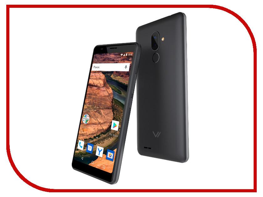 Сотовый телефон Vertex Impress Stone LTE Graphite мобильный телефон vertex impress energy графит